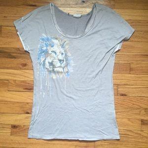Free people lion shirt